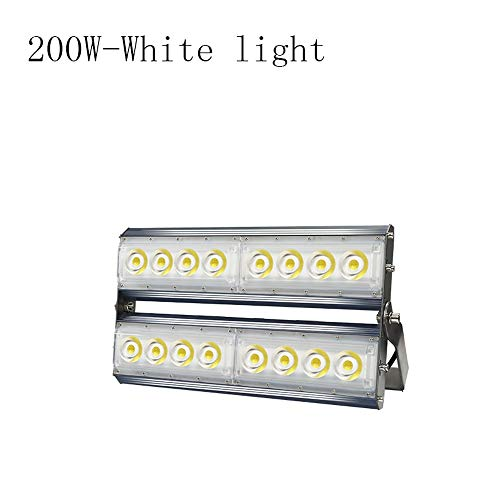 - KMYX 200W LED Security Light Super Bright Outdoor Security Lights IP67 Waterproof Flood Light for Entryways Yard Spot Light Fish Pond Spotlight (Color : White Light)