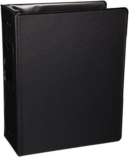 "Wilson Jones 36549B Large Capacity Hanging Post Binder, 3"" Cap, Black"