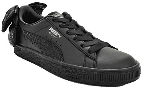 367828 Nero Animal 02 Bow Basket Nero Sneakers Wn's 41 Puma wYqPnSx