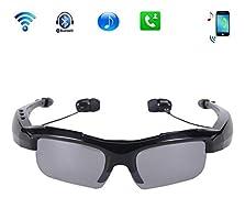 Half-moon Cycling Outdoor Sports Smart Bluetooth MP3 Headset 4.1 Stereo Polarized Sunglasses Digital Video Recorder DV Eyewear Camcorder Portable Mini Sunglasses Camera