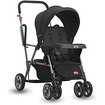 Amazon Com Joovy Caboose Stand On Tandem Stroller Black