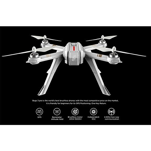 Ocamo MJX Bugs 3 Pro B3PRO RC Drone Remote Control Quadcopter with Altitude Hold
