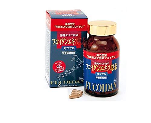 Okinawa Fukoidan Ekisu Genmatsu by Kanehide Bio Okinawa Fucoidan Extract 150 Cap