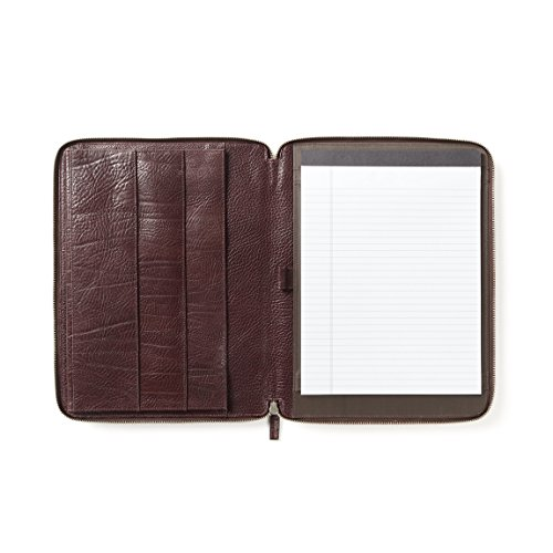 11 Inch MacBook Air Portfolio - Italian Leather - Espresso (brown) by Leatherology