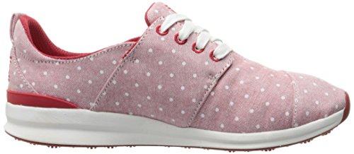 Skechers BOBS von Frauen Phresh Fashion Sneaker Roter Punkt