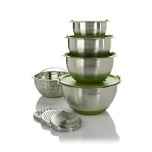 wolfgang puck stainless bowls - 7