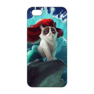 Cool-benz Red hair cat mermaid 3D Phone Case for iphone 6 /