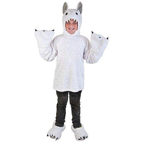 Child White Yeti Costume (Large 12-14)