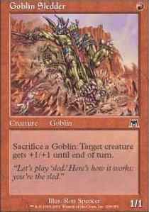 Magic: the Gathering - Goblin Sledder - Onslaught