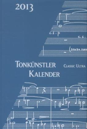 Tonkünstler-Kalender Classic Ultra 2012