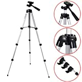 Fheimin® 24 Inch Flexible Lightweight Portable Tripod Stand for All Canon Sony, Samsung, Panasonic Cameras and Camcorders Stand Holder for Iphone 6 6s 5 5s 5c Samsung Note 4 5 S6 with Bag