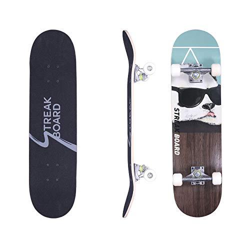 Streakboard Pro Complete Skateboard, 31