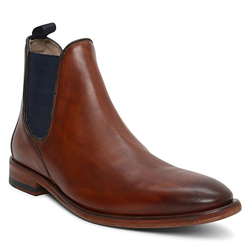 OLIVER SWEENEY Uomo Tronchetti in Pelle Allegro Tan marrone