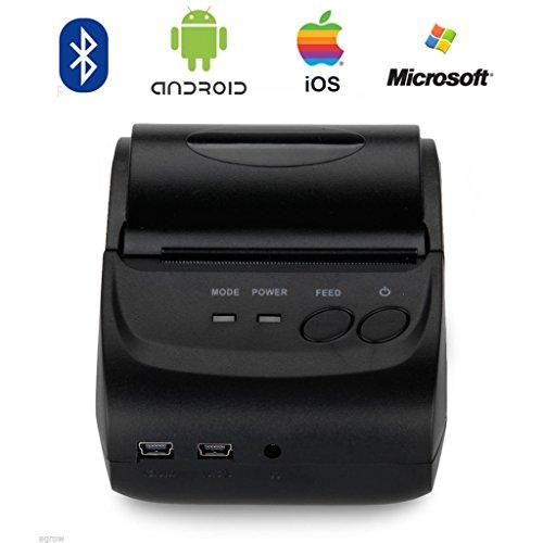 Portable Bluetooth Printer Wosports Thermal