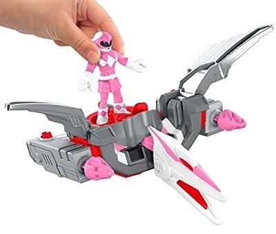 Fisher-Price Imaginext Power Rangers Pink Ranger & Pterodactyl Zord