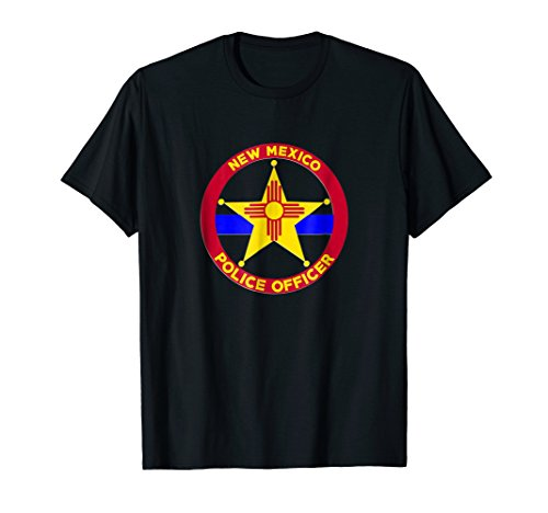 New Mexico Police Officer's Department T-Shirt (Albuquerque New Mexico Street)