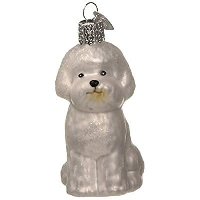 Old-World-Christmas-Dog-Collection-Glass-Blown-Ornaments-for-Christmas-Tree-Bichon-Frise