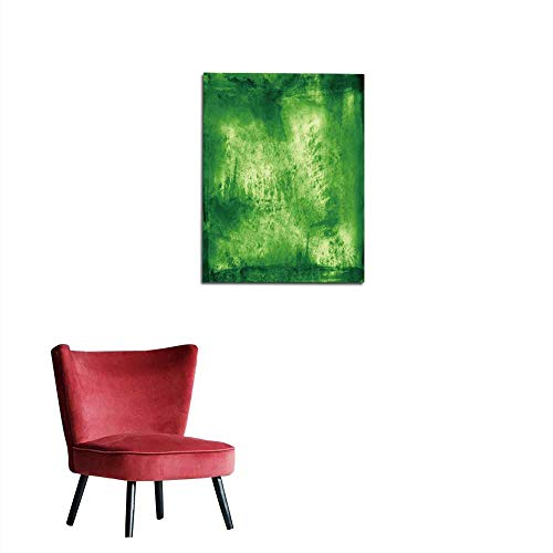 - longbuyer Wallpaper Green Brush Stroke Texture Background Mural 32
