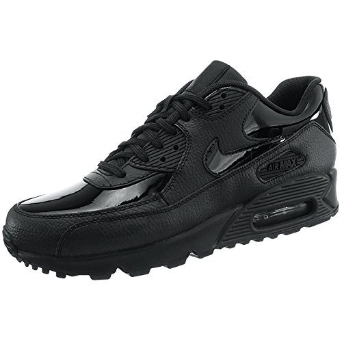 Max Black Chaussures Nike de Black 002 black Femme Gymnastique Air 90 WMNS Noir Leather qwvCE