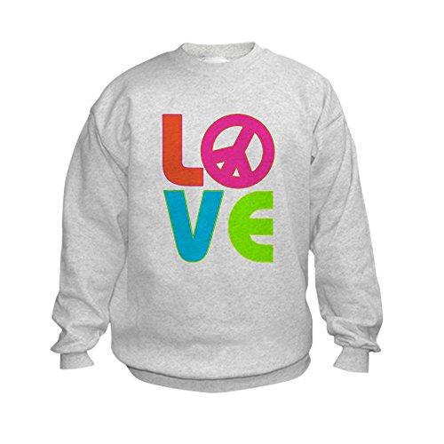 Peace Sign Kids Sweatshirt - 8