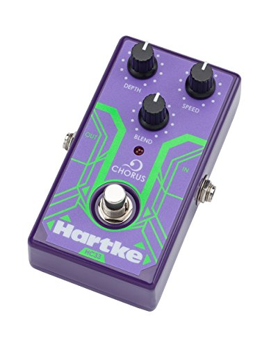 Hartke HC33 Analog Bass Chorus Guitar Effects Pedal