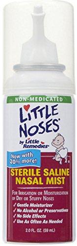 Little Noses Sterile Saline Nasal Mist  2 Oz  Pack Of 6