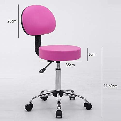 MG-GRD Office Back Swivel Chair Height Adjustable Coffee Chair Clinic Tattoo Studio Beauty Salon Bar Chair