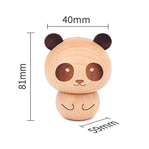 China Toothpick Holder - JuBeCo Cute Wooden Toothpick Holder (Panda Beech)