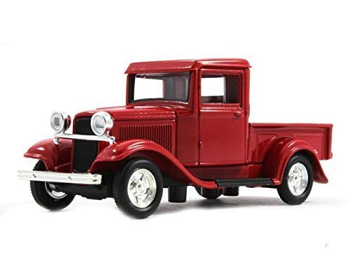 Yat Ming Ford Red Pickup Truck 1934 Model 1/43 Scale Collection Diecast Car