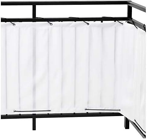IKEA ASIA DYNING Balcón Pantalla de privacidad Blanco: Amazon.es ...