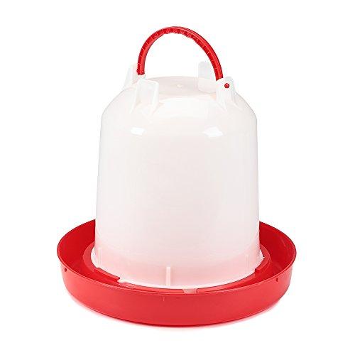 11 Liter Kunststoff Stülptränke Hühnertränke Enten Tränke Geflügeltränkeeimer