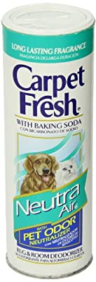 Carpet Fresh Rug and Room Deodorizer with Baking Soda
