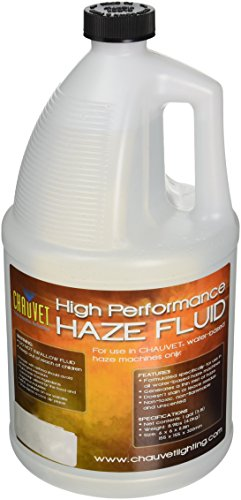 Chauvet DJ Hurricane HFG Water Based Smoke Fog Haze Machine Fluid, 1 Gallon