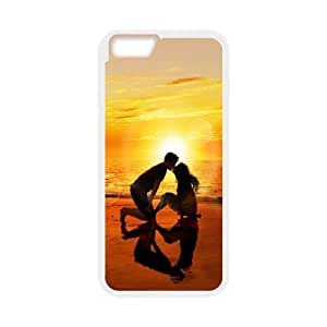 sunset iPhone 6 Plus 5.5 Inch Cell Phone Case White kdxb