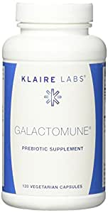 Klaire Labs Galactomune VCapsules, 120 Count
