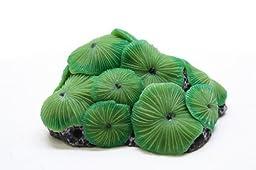 Vitality SH216 Faux Coral Aquarium Decorating Ornament, Green