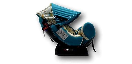 BAB008 mit Kopfpolster von 0 bis 7 Jahre schwarz Kindersitz Guardian Gruppe 0//1//2 0-25 kg