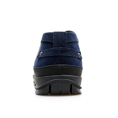 Scarpe Casual Oxford Traspiranti Da Uomo Alla Moda Stile Xiafen Per Lautunno Blu
