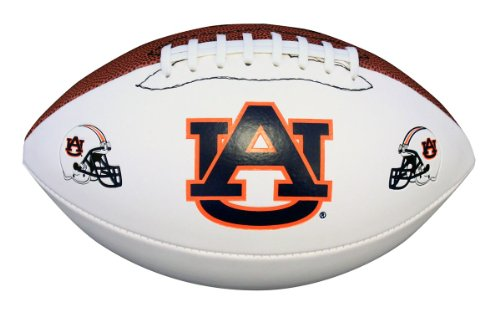NCAA Auburn Tigers Autograph Football, Brown, Official Size (Official Ncaa Autograph Football)