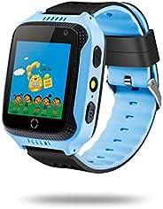 """Docooler Crianças Relógio Inteligente Telefone para Crianças 1.44""""TFT Touch Screen Localizador GPS Rastre"""