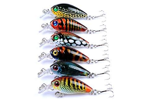 AAIND 1Pcs Mini Fishing Lure Pesca Iscas Artificiais Wobbler 4.5cm 4g Crankbaits Topwater Japan Lure Fishing Wobblerse