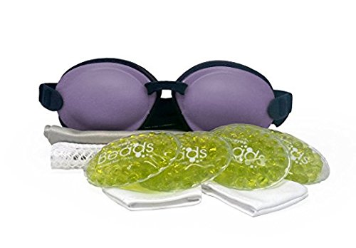 Tranquileyes Warm Compress with Microwavable Beads for Moderate Dry Eye Relief ()