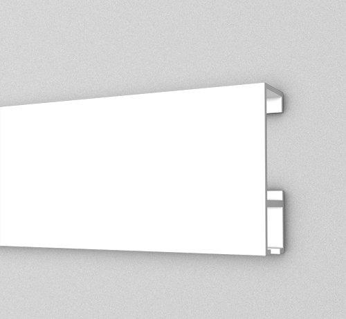 Super Galerieschiene Bilderschienen Komplett-Set 10m Bilderleiste in NU22