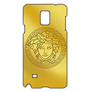 Versace Logo Back Cover For Samsung Galaxy Note 4 3D Hard Plastic Case