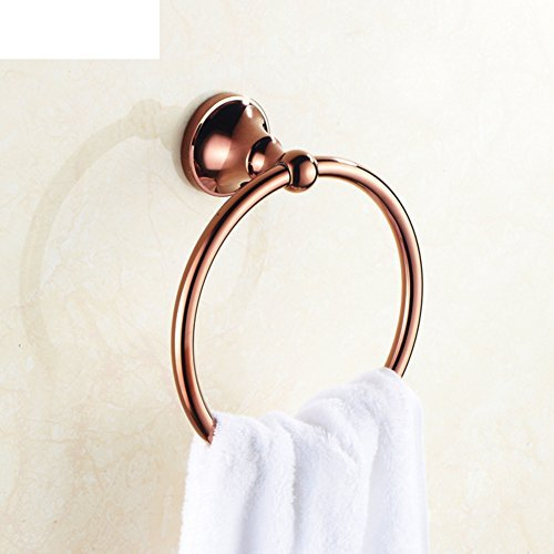 Copper bathroom towel hanging ring/Round towel rack/Bathroom towel ring by Towel Ring