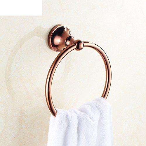 Copper bathroom towel hanging ring/Round towel rack/Bathroom towel ring