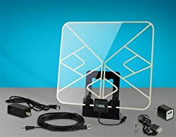 Xtreme Signal HDBLADE100CA-DELUXE HD-BLADE Amplified Flat Indoor TV Antenna Deluxe Kit