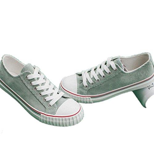De Colores Diariamente Zapatos Tres Compras Correa 38 36 Fondo Movimiento Cómodo La AQUAGREEN De Estudiantes Plano Zapatos Ocio De Señora XIE Lona De HFqT5q