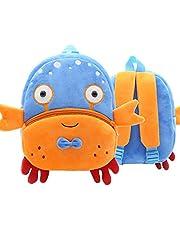 Toddler Backpack Zoo Plush Mini Daypack Animal Cartoon Travel Bag for Baby Girl Boy