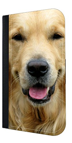 Golden Retriever Up - Close - TM Wallet Style Phone Case - Apple iPhone 4/4s/5/5s/5c/6/6s/6+/6s+/7/7+/8/8+ Select Your Compatible Phone Model